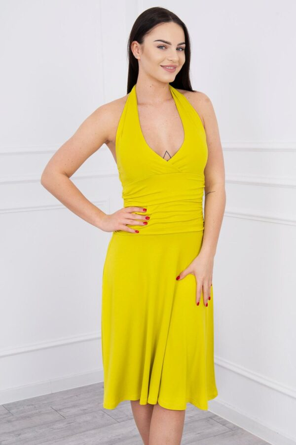 eng pl Dress with halter neck kiwi 8351 3