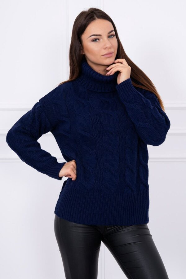 eng pl Sweater Celeo navy blue 13814 3