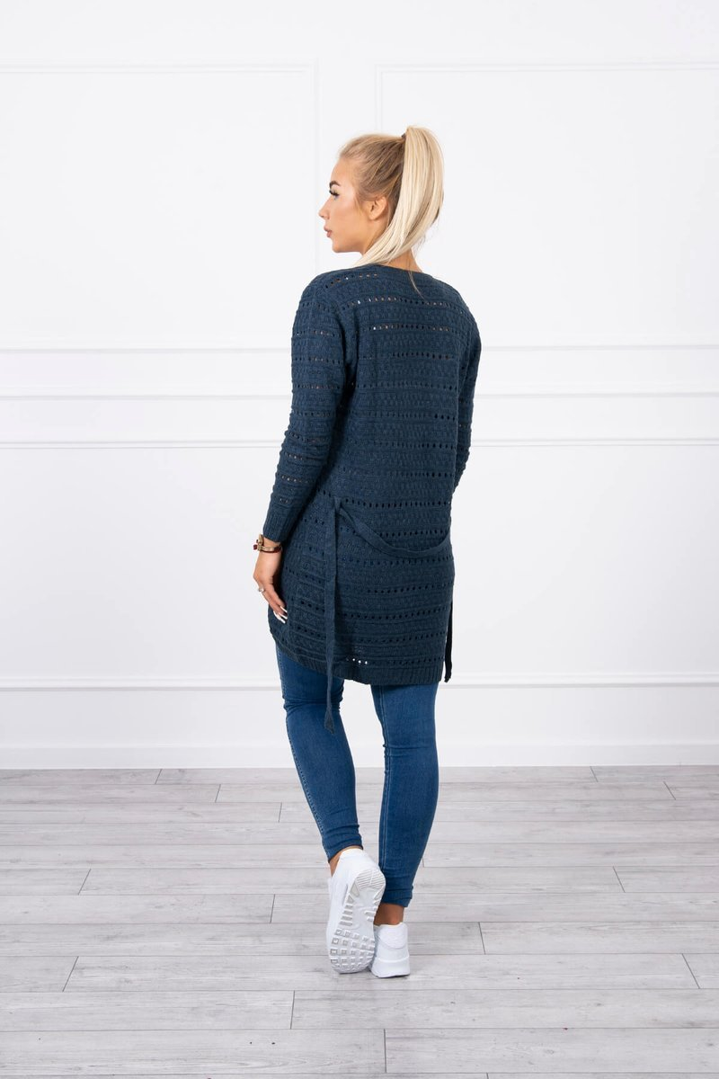 eng pl Sweater with fine meshes jeans 18191 2