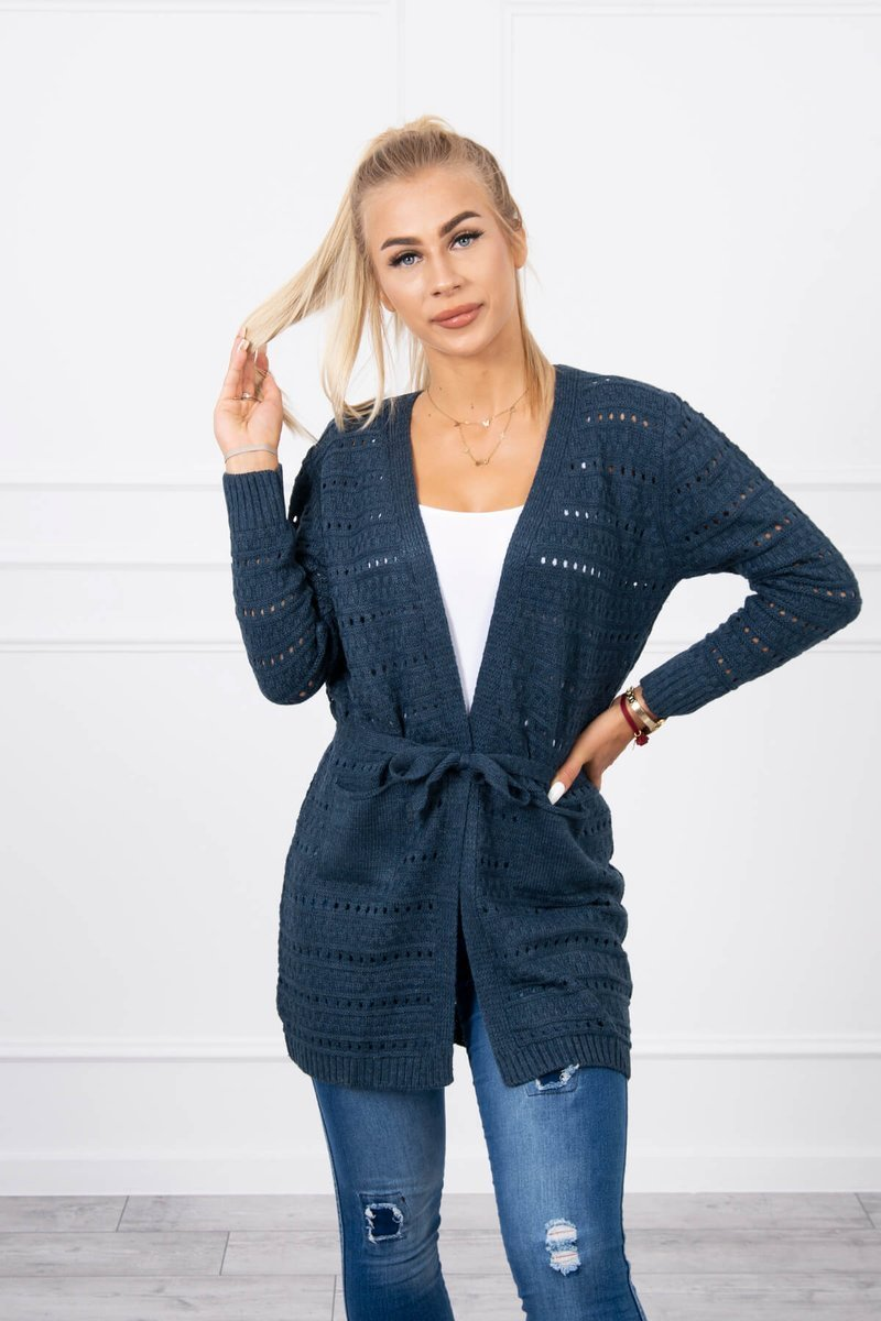 eng pl Sweater with fine meshes jeans 18191 3