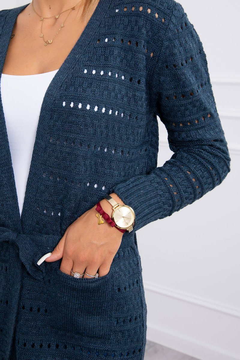 eng pl Sweater with fine meshes jeans 18191 4