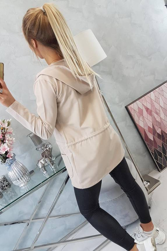 eng pm Cardigan tied at the waist beige 16294 5