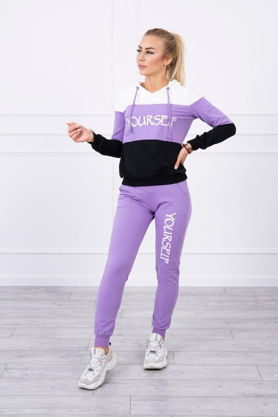 eng pm Set with print Yourself ecru purple 17770 1