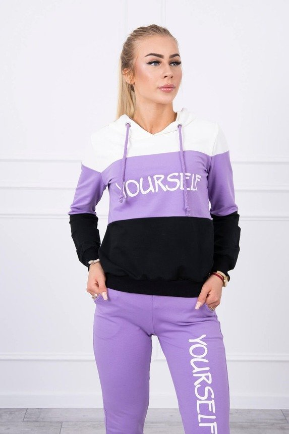eng pm Set with print Yourself ecru purple 17770 3